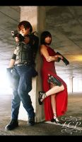 Resident Evil: Leon and Ada by LiquidCocaine-Photos