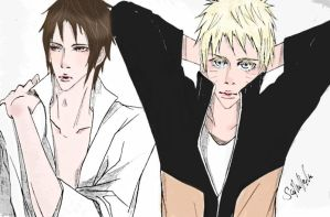 the TEME and the DOBE by isai-chan