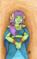 Ogre Princess by CandyAppleCat
