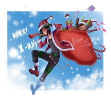 Project LIFE: MERRY 'X' MAS!!! by Billiam-X