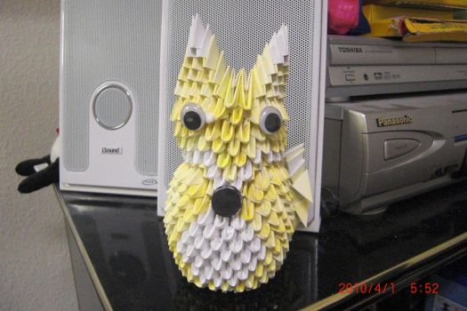 3D Origami - Fox by chris3169512