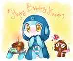 .: Happy Birthday ! :. by FnFiNdOART