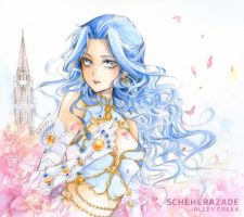 Trinity Blood: Scheherazade by AlleyCreek