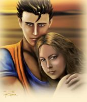 Gohan and I commision by naa