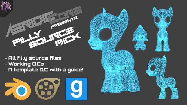 [DL] Filly Source Pack by AeridicCore