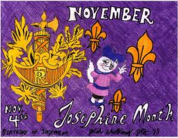 November: Josephine Month by Josiah-Shockency-JCS