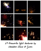 Fireworks Textures by seline-bennet