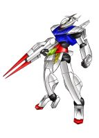 Turn A Gundam Ver.Ci. by Tecmopery
