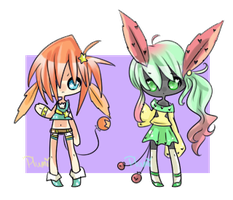 Feather-Ear Balloon-Tail Thingies {Closed} by Ruruuni
