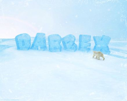 Snow Letters Wallpaper v.2 by dabbex30