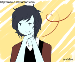 Marshall lee by Mae-D