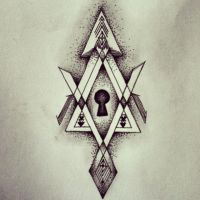 Keyhole Tattoo design by Rachhhh566