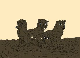 We are the Muddy Pack! by marillon954