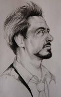 Tony Stark - wip 2 step - by JuliaFox90