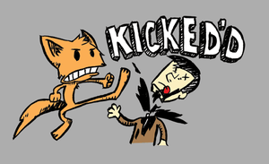 A whole lotta kick by FryFox