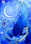 ACEO- Moon Dancer by Sky-Shifter