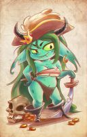 Lil' Swashbuckler by PEPPERTODE