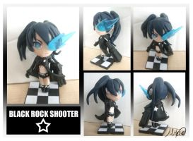 Black Rock Shooter Model by LightningGuy