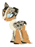 Introducing,  Shep! - WIP by Toxijen