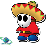 Sombrero Guy - Paper Mario: Sticker Star by DPghoastmaniac2