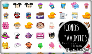 Mis Icons Favoritos by MostachooGirl