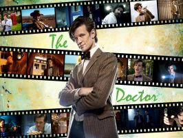 11th Doctor Wallpaper by davids-little-star