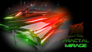 Fractal Mirage HD Wallpaper #1 by MatchSignal3D