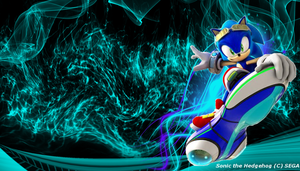 Sonic The hedgehog 2 WP by JRDN762