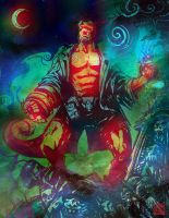 Hellboy by SantaFung