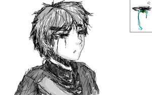 APH -- Sketchy Mouse Drawing by kanarichan