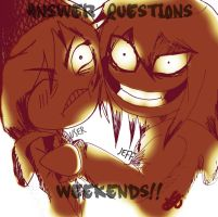 answer questions Weekends! by AskToJeff