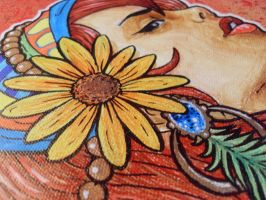 Gypsy Painting detail by Kelden17