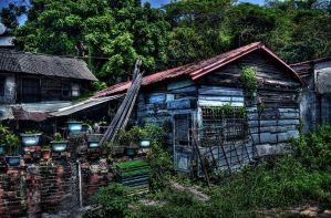 Old House by pacmangeek