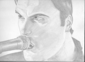 Ben Burnley Pencil by icepenguin26