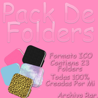Pack De Folders by PinkLifeEditions