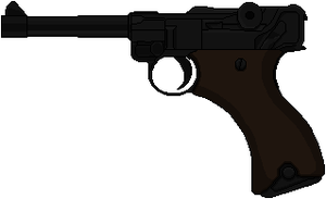 Luger P08K by Hybrid55555