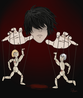 L, The Puppeteer by PelagieChildie