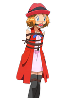Serena Tied Up and Gagged 14 (Pokball Gag) by songokussjsannin8000