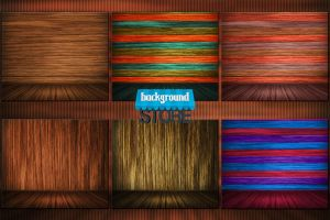 Wooden Interior Background by BackgroundStore