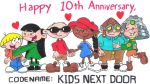 A Kids Next Door 10th Anniversary Picture by nintendomaximus