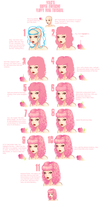 make it floofy. .::a hair tutorial::. by valokilljoy
