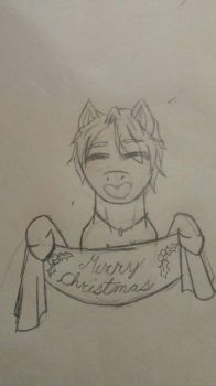Victor wishes you a Merry Christmas by Andermarek107