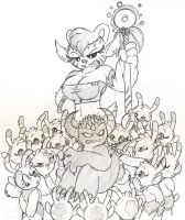 Planet of The Sweetpeas XD by Mickeymonster