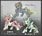 Adoptable Pony Batch 1 [OPEN] 1/3 available by RebeccaAlexa