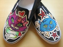 kitty shoes by vcallanta