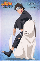 Kiba Inuzuka and Akamaru by Apostoll