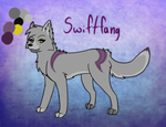 Old Swift Ref (RENAMING TO CALLA) by DoubleTroubleWolves