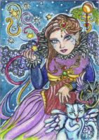 Night for Magic (ACEO) by Keyshe54