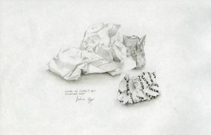 Paper Texture Sketch by Inanis-Animus