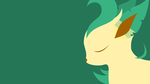 Leafeon Wallpaper by sumw1